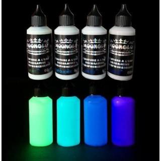 Farba  wodna fluorescencyjna ZESTAW MOONGLO 4 kolory