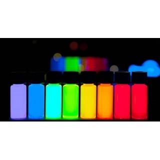 Fluorescencyjny niewidoczny atrament reagujący w świetle UV
