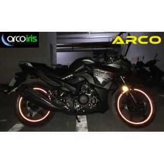 Prążki odblaskowe do obręczy motocyklowych ARCO